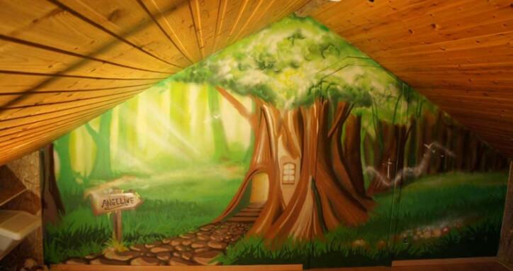 Idées De Thèmes Pour Une Fresque Murale De Chambre D Enfant