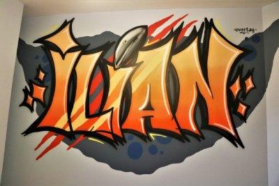 Peinture Murale Et Lettrage Pour Une Chambre D Ado à Gesves